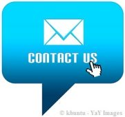 Contact us cloud bubble