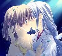 Japanese Girls Kissing Anime Girls Kissing