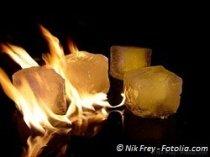 Burning ice