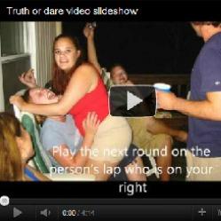Truth or dare video slideshow