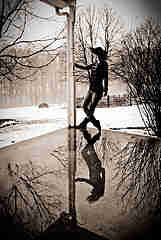 Truth or Dare Stories Pole Dance in Snow