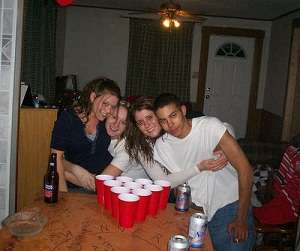 Ready to play beer pong