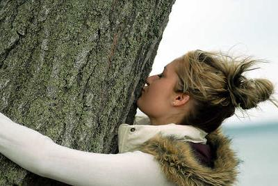 Dare: Kiss a tree