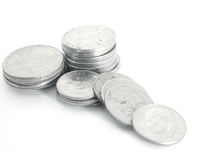 Coins for quarter drinking game