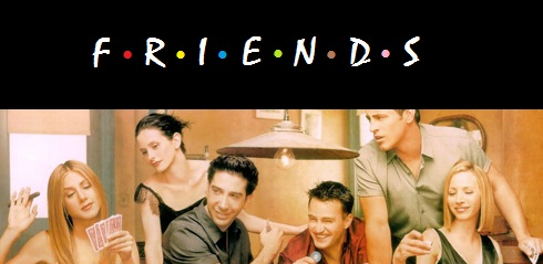 Famous TV Series Friends Poster