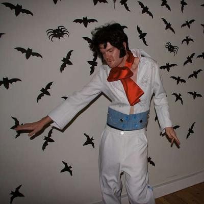Dare: Dress up like Elvis Presley and sing a song