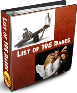 List of Dares ebook coverpage