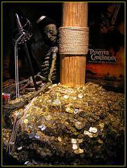 Pirates of the Caribbean treasure hunt