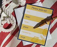 A Fill-able Invitation Card