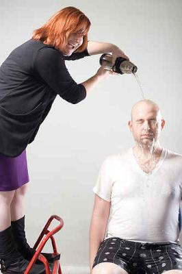 Pouring Water on Head