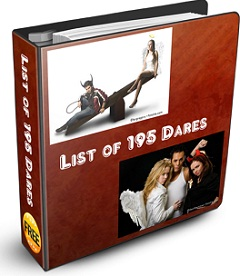list of 195 Dares Ebook coverpage