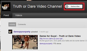 truth or dare questions subscribe to us