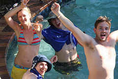 Swimming Pool Games Yelling in the Pool
