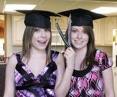 Quite Smart College Twin Sisters