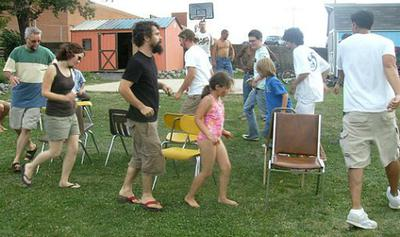 A Game Similar to Musical Chairs
