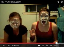 Whipped cream dare video