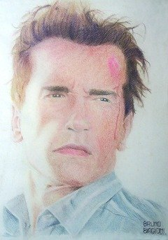 Arnold Schwarzenegger Sketch