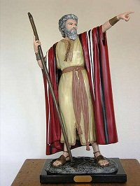 Moses, from the Ten Commandments