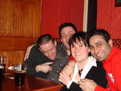 Four Friends enjoying Truth or Dare