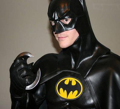 Had to run around in a Batman Costume as a dare!