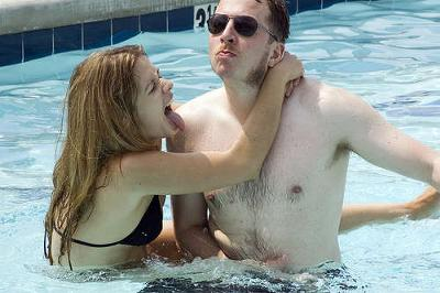 Things got pretty hot in the pool