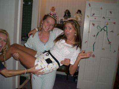 Funny Girls at Slumber Party