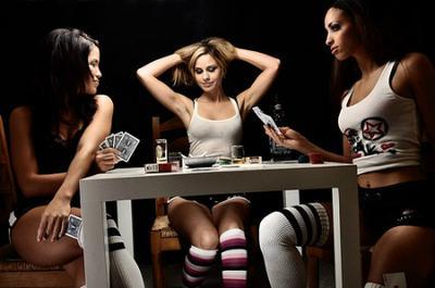 Naked strip poker stories