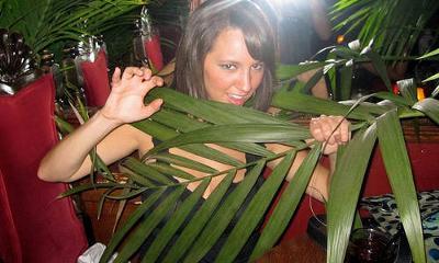 Having Fun at a Jungle Themed Party