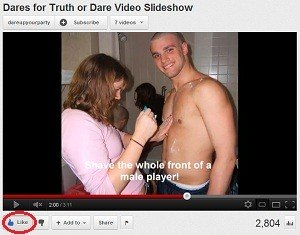 truth or dare questions give a thumbs up to our videos